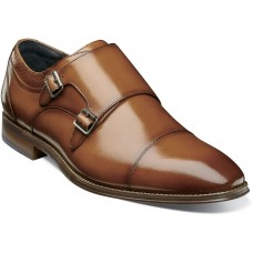 Bayne Cap Toe Double Monk Strap #25347